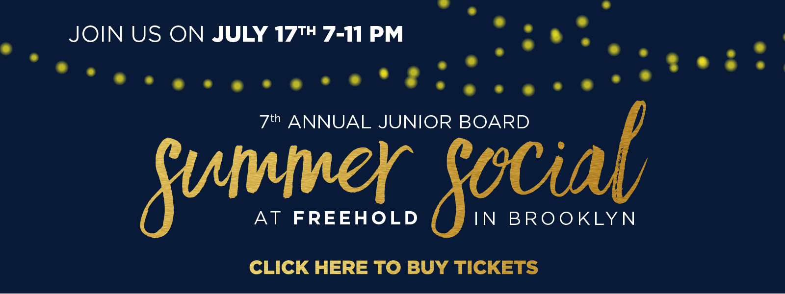 7th annual junior board summer social